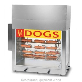 Gold Medal Products 8103 Hot Dog Broiler / Rotisserie