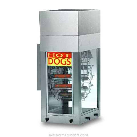 Gold Medal Products 8108 Hot Dog Broiler Rotisserie Type