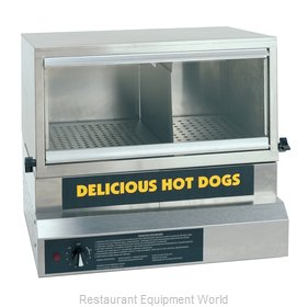 Gold Medal Products 8151 Hot Dog Steamer
