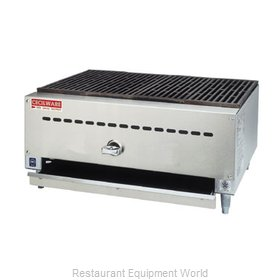 Grindmaster BC1812 Charbroiler Gas Counter Model