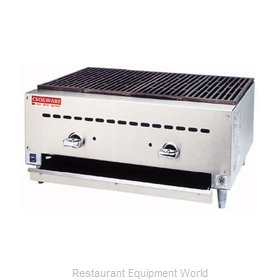 Grindmaster BC1824 Charbroiler Gas Counter Model