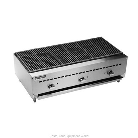 Grindmaster BC1836 Charbroiler Gas Counter Model