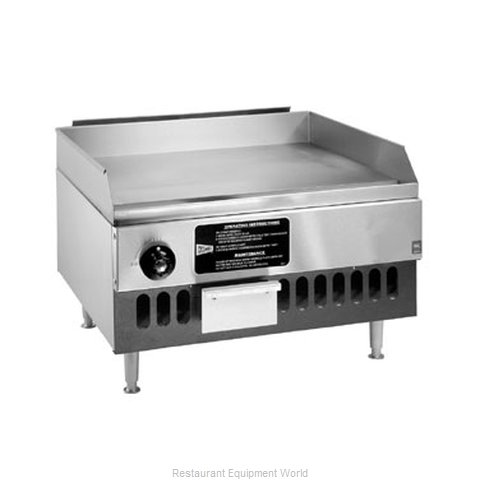 Grindmaster BG12 Griddle Counter Unit Gas