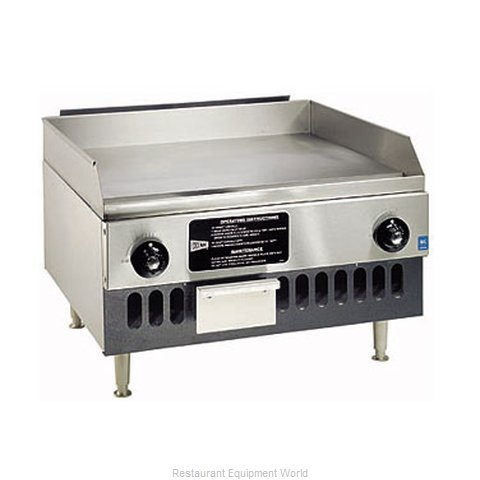 Grindmaster BG24 Griddle Counter Unit Gas (Magnified)