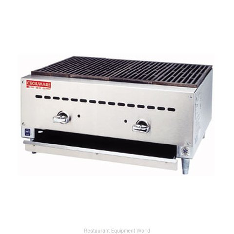 Grindmaster CCB1824 Charbroiler Gas Counter Model