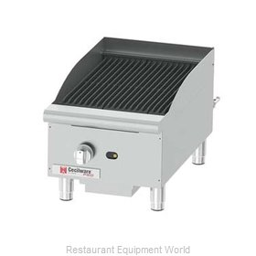 Grindmaster CCP15 Charbroiler, Gas, Counter Model