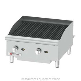 Grindmaster CCP24 Charbroiler, Gas, Counter Model