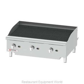 Grindmaster CCP36 Charbroiler, Gas, Counter Model
