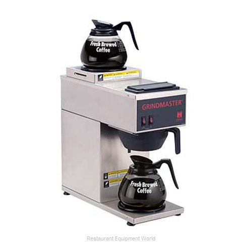 Grindmaster CPO-2P-15A Coffee Brewer for Glass Decanters