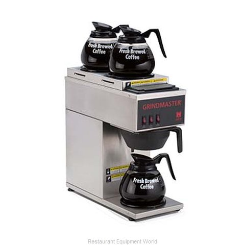 Grindmaster CPO-3P-15A Coffee Brewer for Glass Decanters