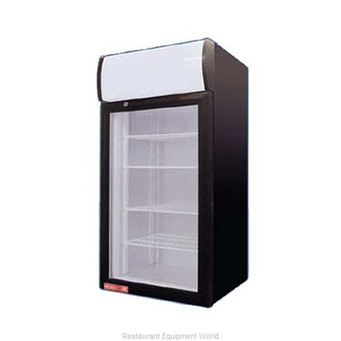 Grindmaster CTR2.68LD Display Case Refrigerated Countertop