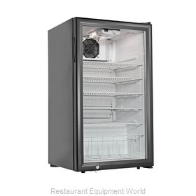 Grindmaster CTR3.75 Display Case Refrigerated Countertop