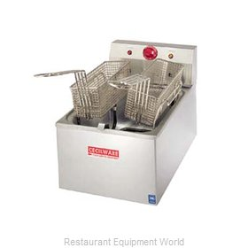 Grindmaster EL120 Fryer Counter Unit Electric Full Pot