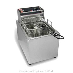 Grindmaster EL15 Fryer Counter Unit Electric Full Pot