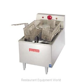 Grindmaster EL170 Fryer Counter Unit Electric Full Pot