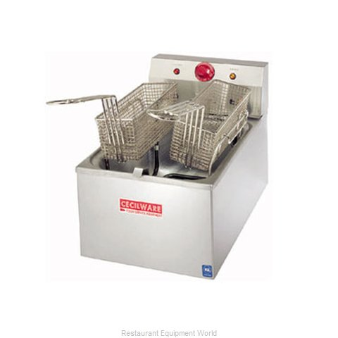 Grindmaster EL310 Fryer Counter Unit Electric Full Pot (Magnified)