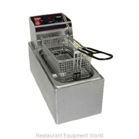 Grindmaster EL6 Fryer Counter Unit Electric Full Pot