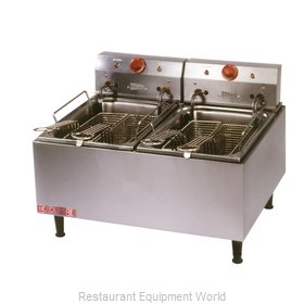 Grindmaster ELT500 Fryer, Electric, Countertop, Split Pot