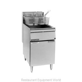 Grindmaster FMS65 Fryer Floor Model Gas Full Pot