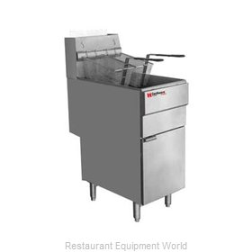 Grindmaster FMS705LP Fryer, Gas, Floor Model, Full Pot