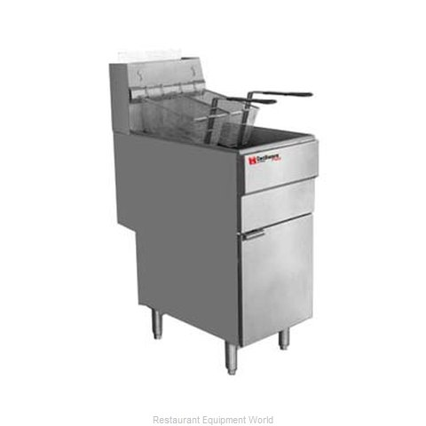 Grindmaster FMS705NAT Fryer, Gas, Floor Model, Full Pot