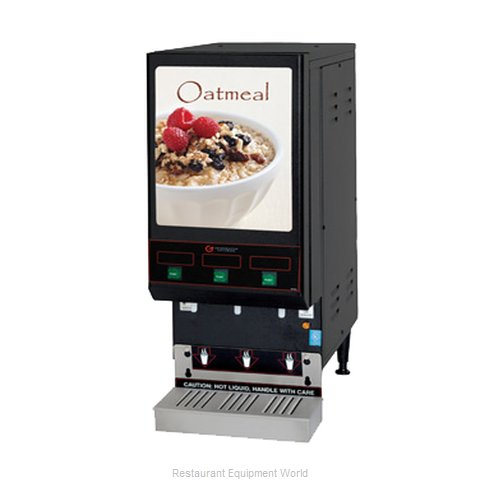 Grindmaster GB3 LPO Oatmeal Dispenser (Magnified)