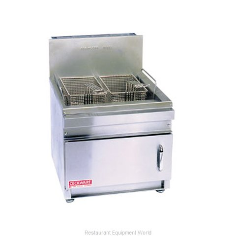 Grindmaster GF10 Fryer Counter Unit Gas Full Pot (Magnified)