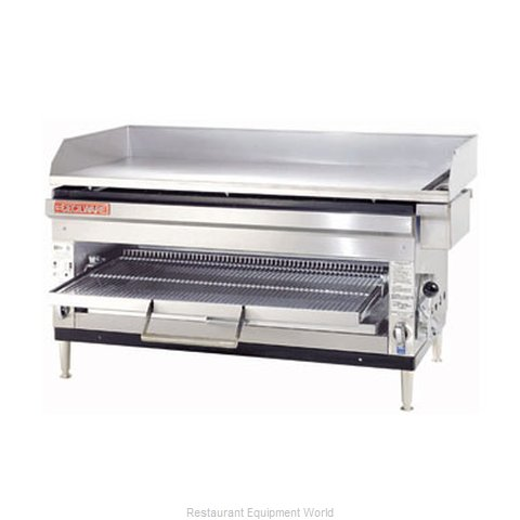 Grindmaster HDB2042 Griddle Overfire Broiler Gas Counter