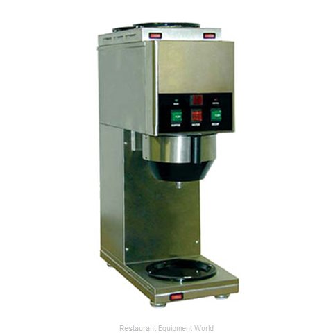 Grindmaster JAVA 2 QB-D3 Coffee Brewer for Glass Decanters