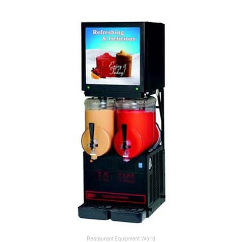 Cecilware MT2ULAFBL MT Auto Fill Granita Dispensers (Magnified)