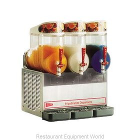 Cecilware MT3UL MT Manual Fill Granita Dispensers