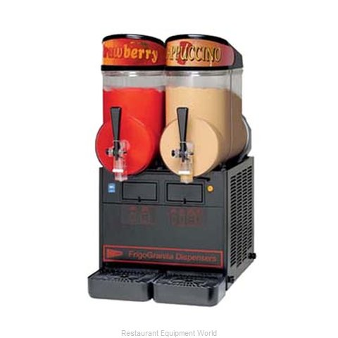 Grindmaster NHT2ULBL Frozen Drink Machine, Non-Carbonated, Bowl Type