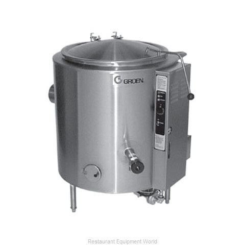 Groen AH/1E-100 Stationary Kettle 100 gal (Magnified)