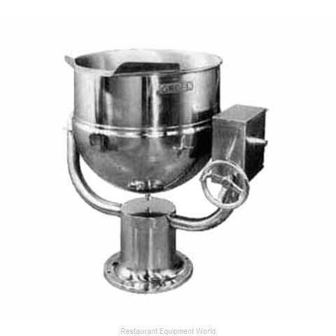 Groen D-40 Kettle, Direct Steam, Tilting