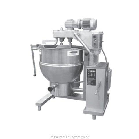 Groen DHT-40,TA/3 Kettle Mixer Gas (Magnified)