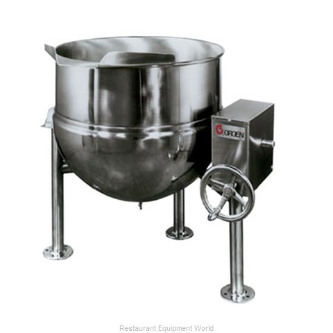 Groen DL-40 Kettle, Direct Steam, Tilting