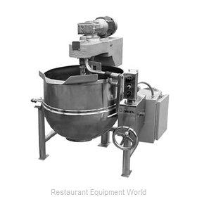 Groen DL-60, TA/3 Kettle Mixer Direct-Steam