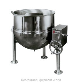 Groen DL-80 Kettle, Direct Steam, Tilting