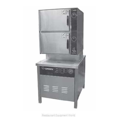 Groen HY-10SG-24 Steamer Convection Gas Floor Model