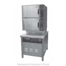 Groen HY-10SG-36 Steamer, Convection, Gas, Floor Model