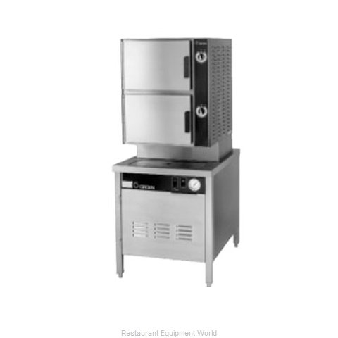 Groen HY-6SG-24 Steamer Convection Gas Floor Model