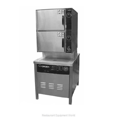 Groen HY-6SM Steamer Convection Direct-Steam Floor Model