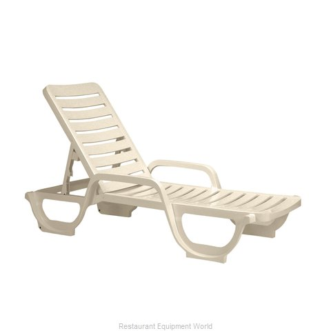 Grosfillex 44031066 Adjustable Chaise (Magnified)