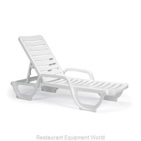 Grosfillex 44031104 Chaise, Outdoor