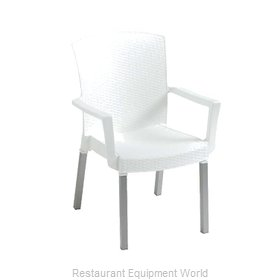 Grosfillex 45903004 Chair Armchair Stacking Outdoor