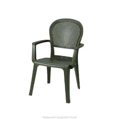 Grosfillex 46105002 Seville Highback Stacking Armchair