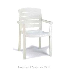 Grosfillex 46119004 Chair, Armchair, Stacking, Outdoor