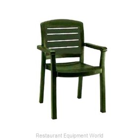 Grosfillex 46119078 Chair, Armchair, Stacking, Outdoor