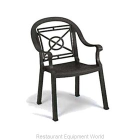 Grosfillex 46214002 Chair, Armchair, Stacking, Outdoor