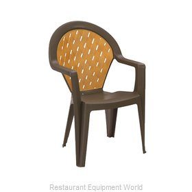 Grosfillex 49362037 Chair Armchair Stacking Outdoor